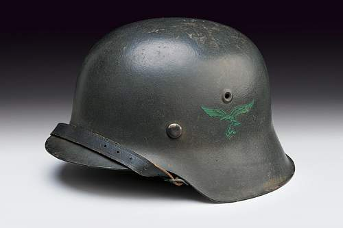 Large helmet collection for auction