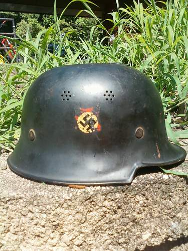 So, who had the worst first helmet?