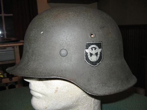 Original DD Police Helmet.........? ? ?