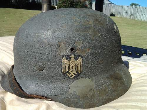 Is this a KM decal? German wwii m-35 with zimmerit paste?