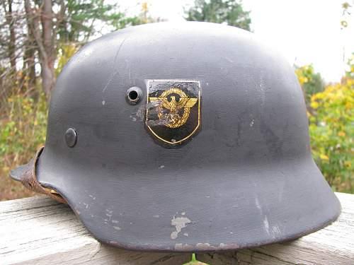 M35 DD Combat Police Reissue - SE66 - Lot # 3873