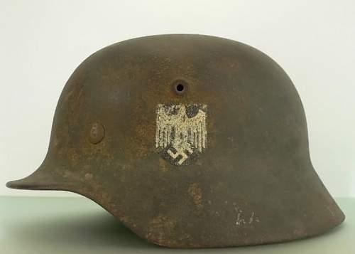 Blue Division Helmet