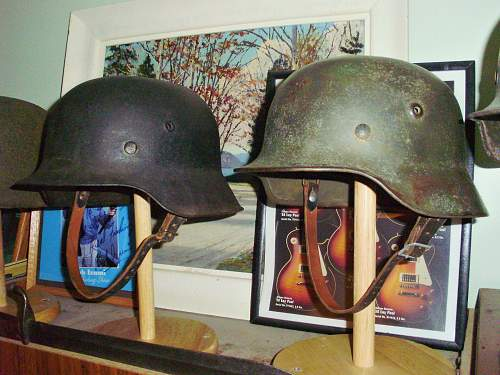 Ideas for helmet stands.