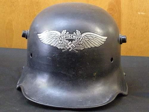 Click image for larger version.  Name:Luftschutz Trans Helmet (2).jpg Views:286 Size:144.8 KB ID:420757