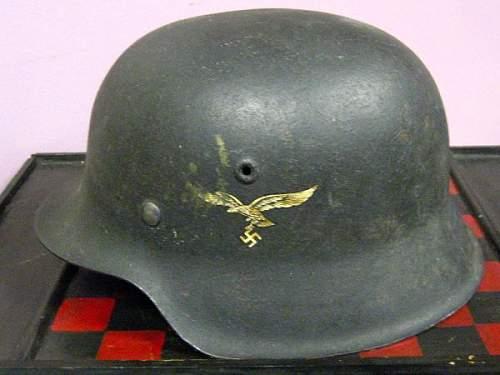 Luftwaffe Helmet...authentic?