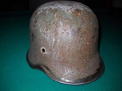 unknown german police helmet?