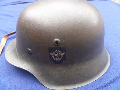 dd m42 police helmet opinons please
