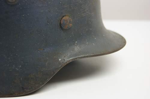 My M40 Luftwaffe SD helmet