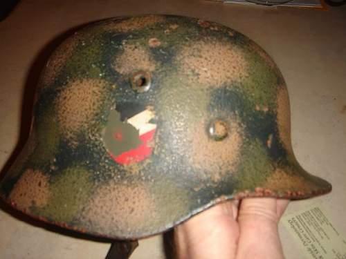 Camo Helmet in Local Craiglist