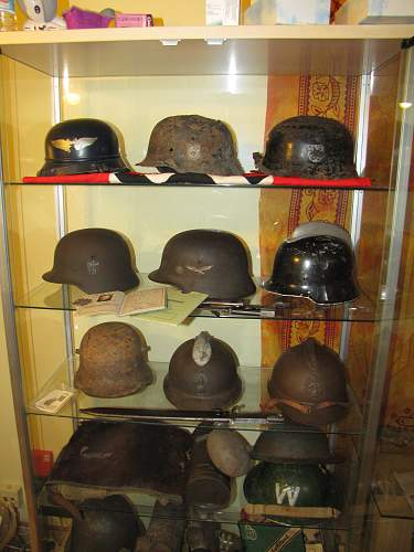 my small german helmet collection + some others