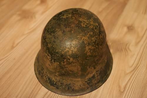 Camo helmet