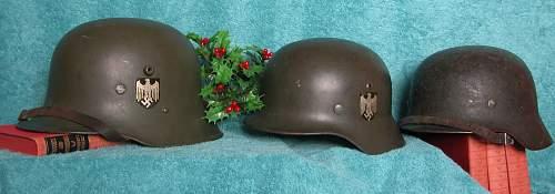 Real Combat Veteran, Double Decal Heer M35. NS 66