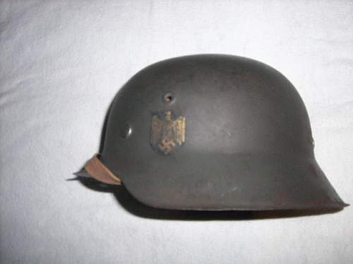 m42 kriegsmarine helmet Fake or real ?