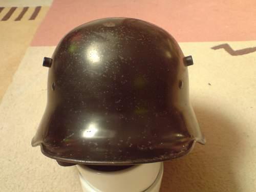 "Is this a ""Himmler"" helmet?"