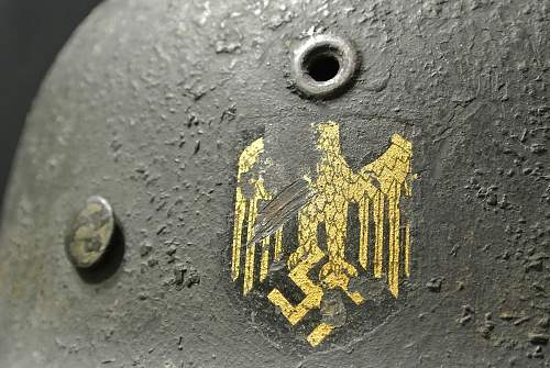 Heer NS66 M40 - Single Decal w/ Sawdust Overpaint