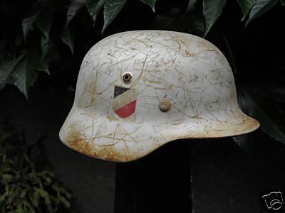 german helmet ostfront?