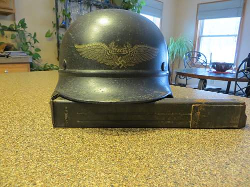 My first beaded helmet