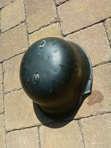 Picked up a new Nazi Helmet. Good or Bad?