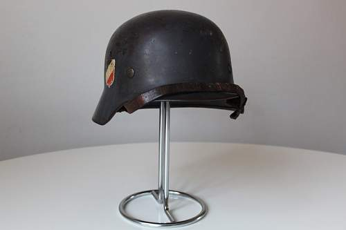M35 DD Luftwaffe helmet for review
