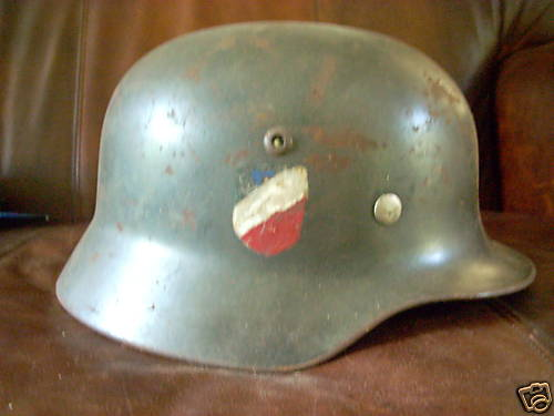 Vichy French Helmet on ebay ?