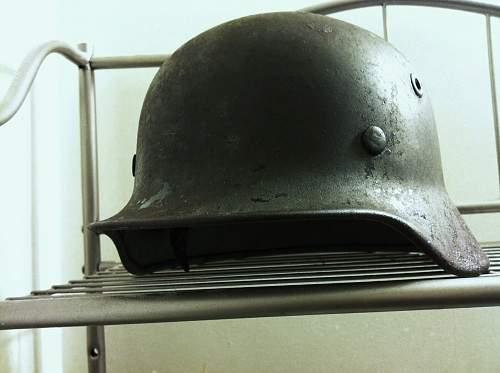 Click image for larger version.  Name:German Helmet 1.jpg Views:349 Size:88.9 KB ID:452525