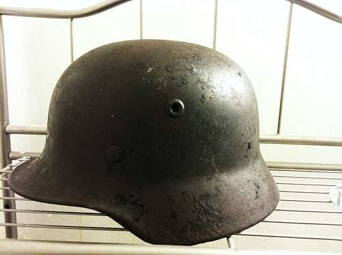 Click image for larger version.  Name:German Helmet 2.jpg Views:62 Size:95.4 KB ID:452526