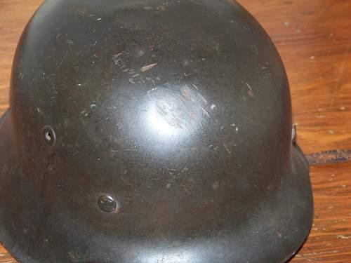 M42 Luftwaffe helmet