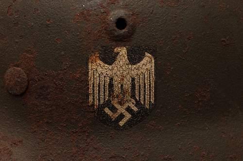 My German Helmets