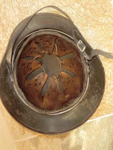 Red Cross helmet from Jersey, Channel Islands.