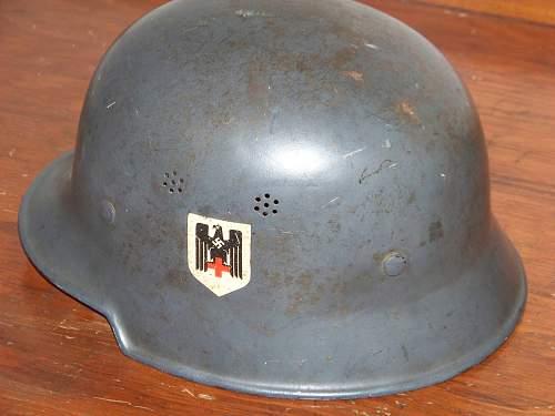 My new M34 DRK helmet