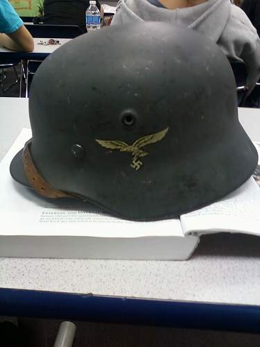 Why do you collect WW2 German helmets?
