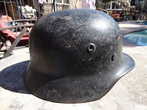 My first german helmet