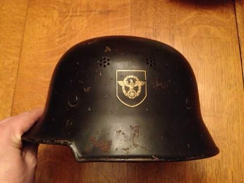 Lot of 8 German Helmets