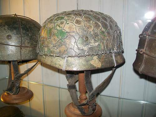 A few cammo lids from Normandy and Malmedy.....