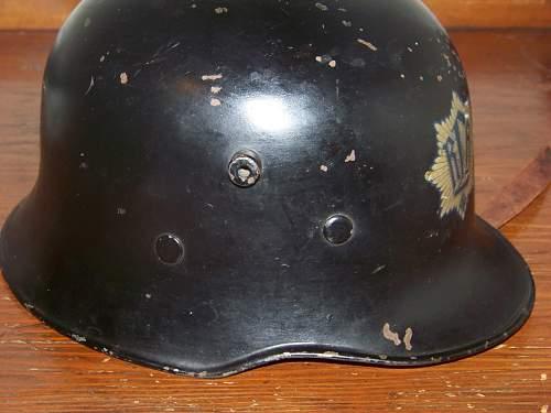 RLB droopbill helmet
