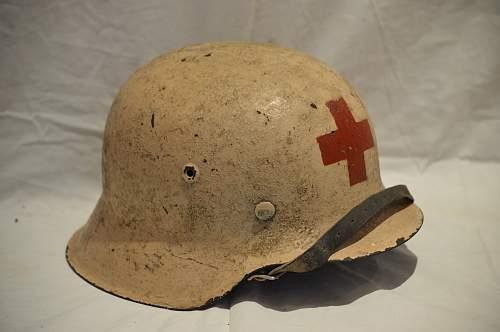 German army medics helmets