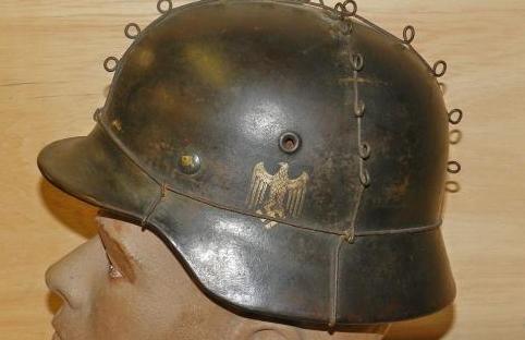 Comedy M40 helmet, seller at it again!