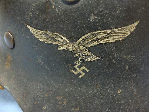 New Luftwaffe helmet - please can you have a look a these?