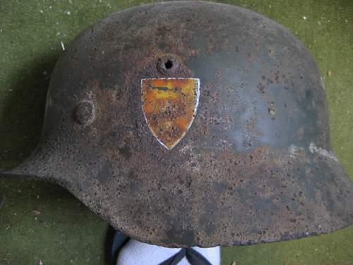 Heimwehr Danzig helmet