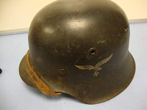 militaria fair helmet. real or fake? I cant decide...