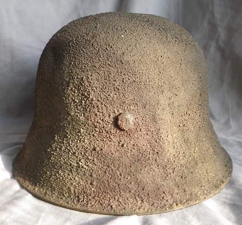 WWII German Camouflage Helmet?