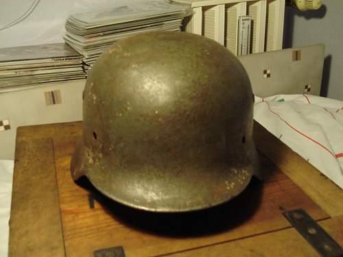 My very first Geman helmet...Opinions?