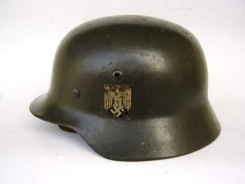 Helmet mod. 35, need opinion, please!