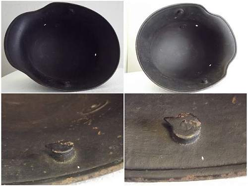 M16 shell BF64 with remnants of double decal?