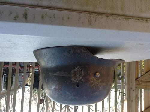 Ww2 german heer helmet