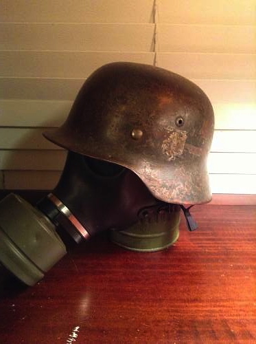 New helmet display
