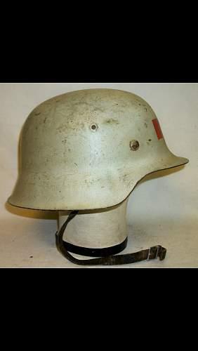 German M42 medic helmet