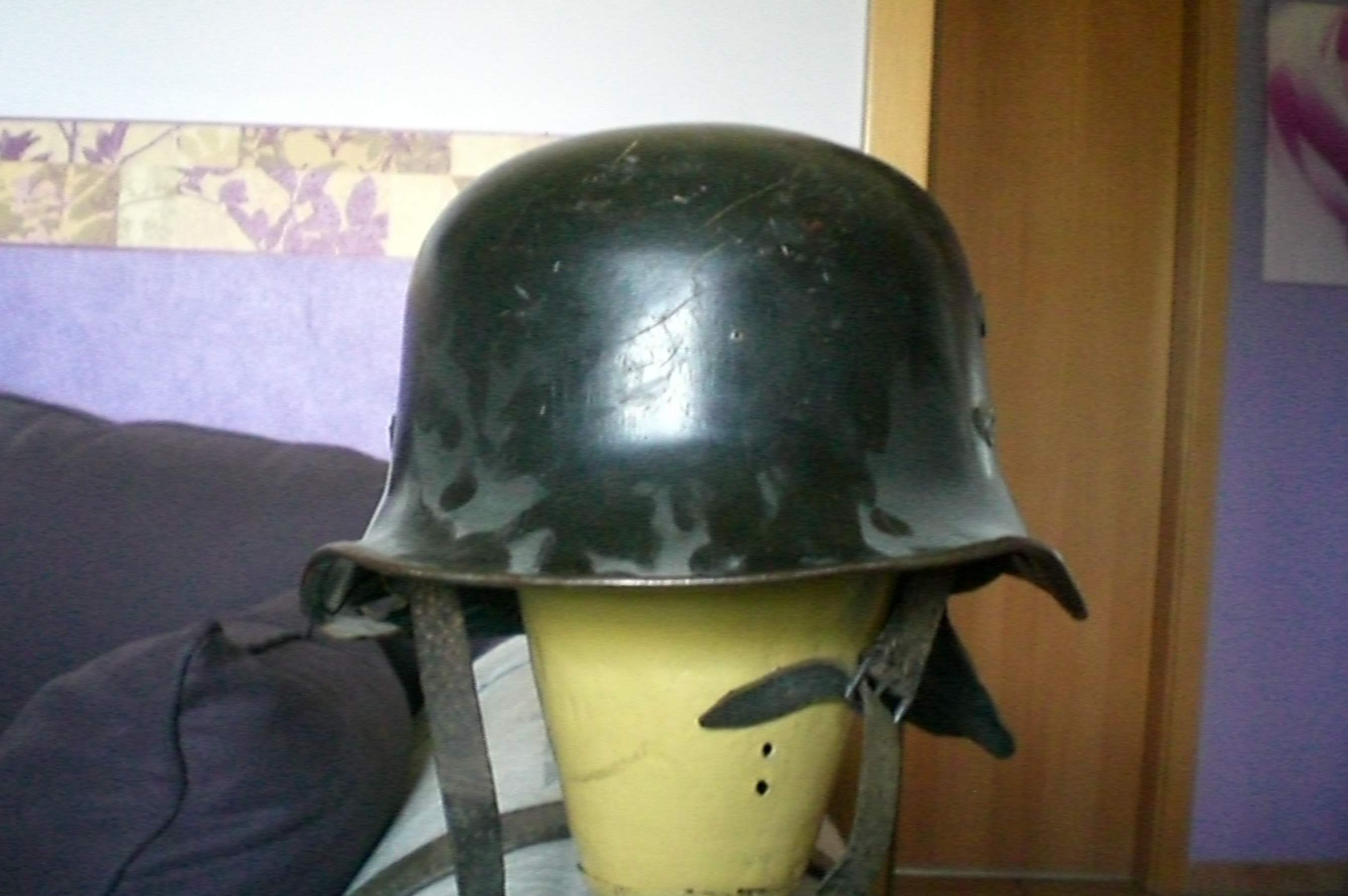 Wwii German Helmet Authentic