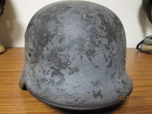First M40 helmet