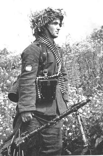 Rare Foreign fighter unit Helmet picture